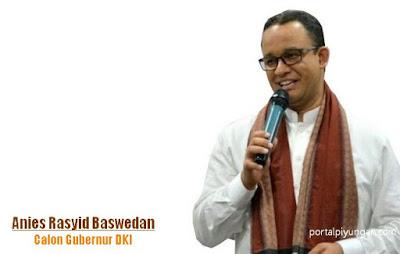 Tanggapan Anies Baswedan terhadap Pernyataan Gubernur DKI Jakarta