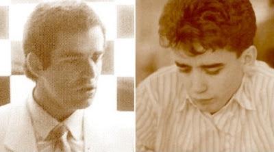 Los ajedrecistas Kaspárov y Miralles