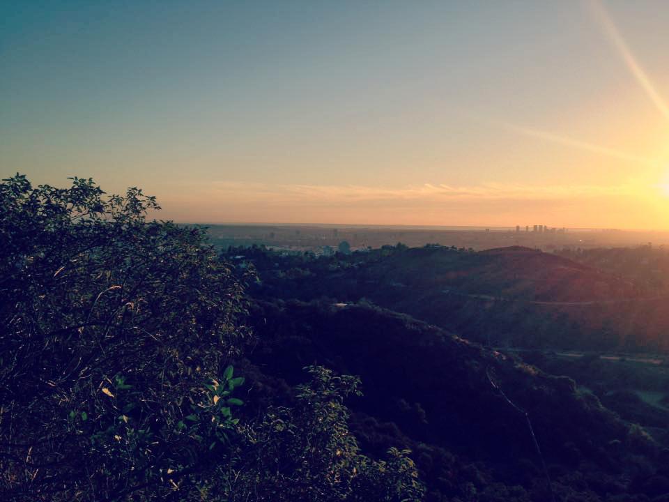 Vue sur Los Angeles