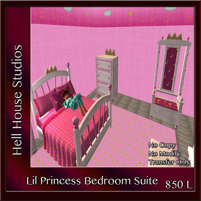 Soon To Be Released-Lil Princess Bedroom Suite