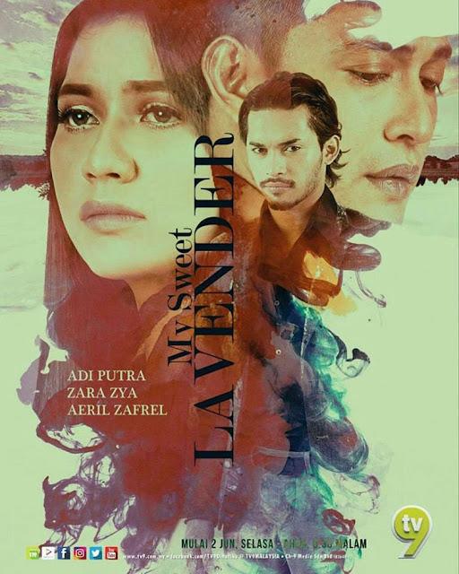 Drama My Sweet Lavender Lakonan Adi Putra, Zara Zya, Aeril Zafrel