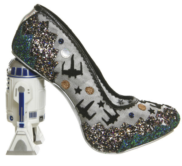 Irregular Choice disney star wars battle with artoo