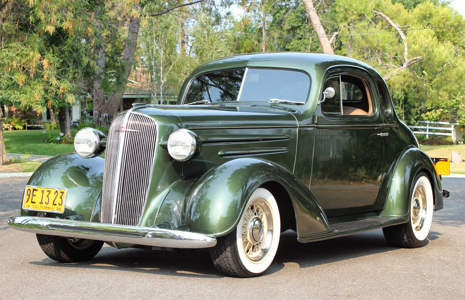 Covering Classic Cars  1936 Chevy Coupe From The