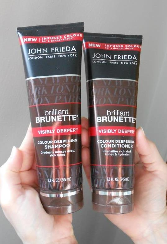 Brilliant Brunette Visibility Deeper shampoo and conditioner