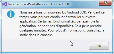 Installation Android SDK