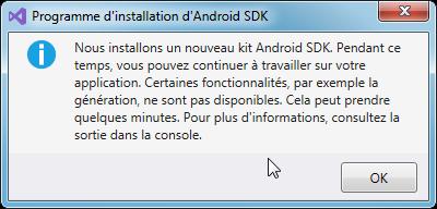 Installation Android SDK