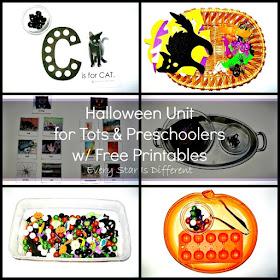 Halloween Activities for Tots and Preschoolers
