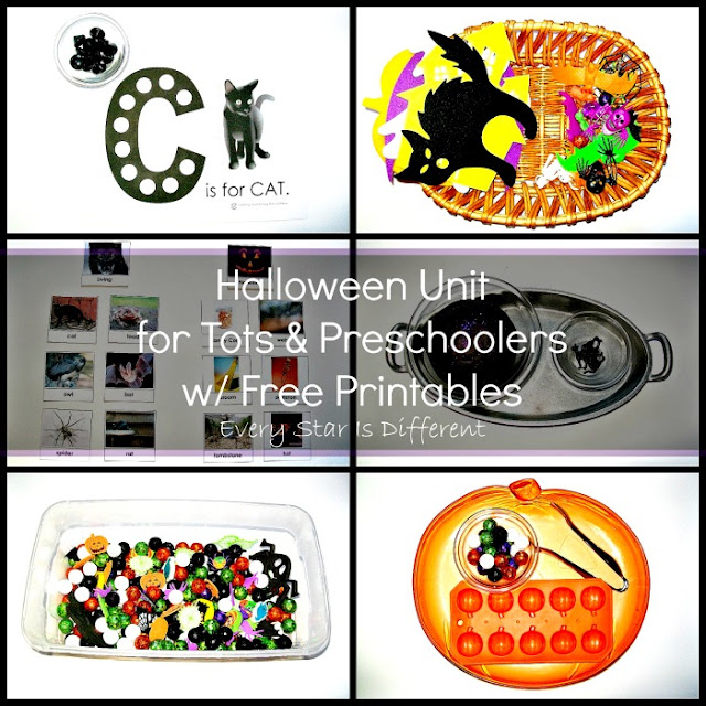 Halloween Activities for Tots and Preschoolers