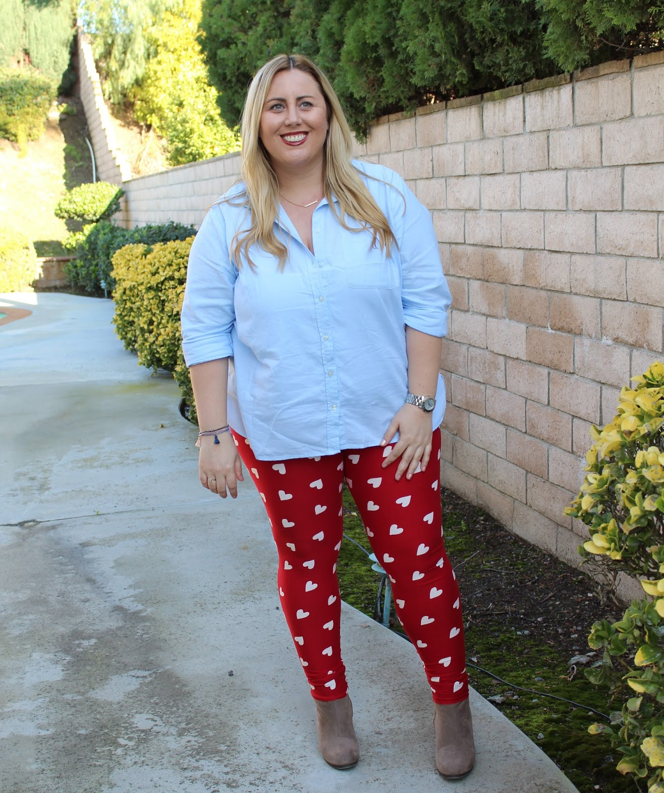 LuLaRoe Valentine's Day leggings