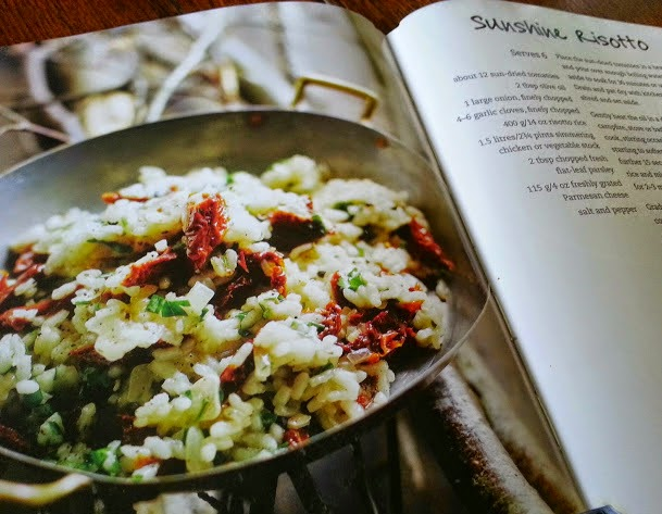 The Camping Cookbook from Parragon Books review risotto page