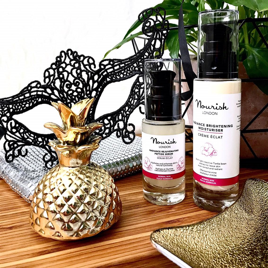 zdjęcie przedstawiające kosmetyki Nourish Radiance