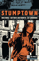 Stumptown #1 by Greg Rucka, Matt Southworth, Lee Loughridge.