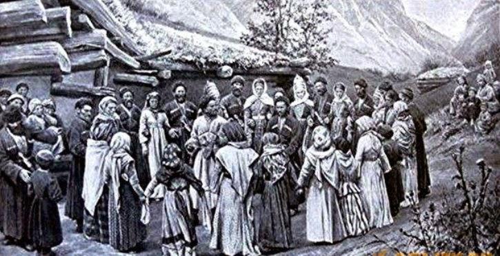 кавказкие обычаи, кавказские танцы, бросить платок остановить вражду