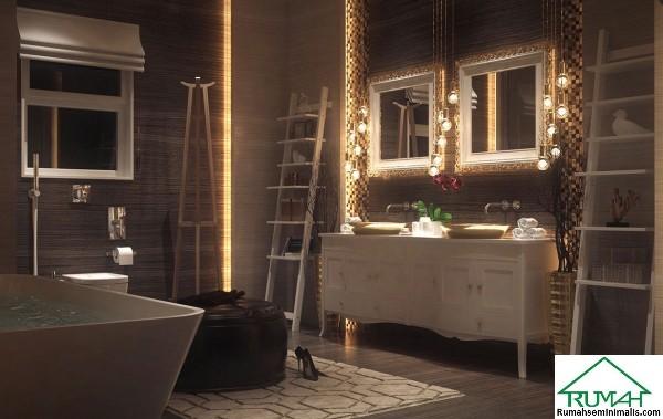 merupakan salah satu ruangan kecil yang mempunyai kepentingan besar dalam sebuah rumah 27 Kumpulan Denah Model Desain Gambar Kamar Mandi Minimalis Ultra Luxury