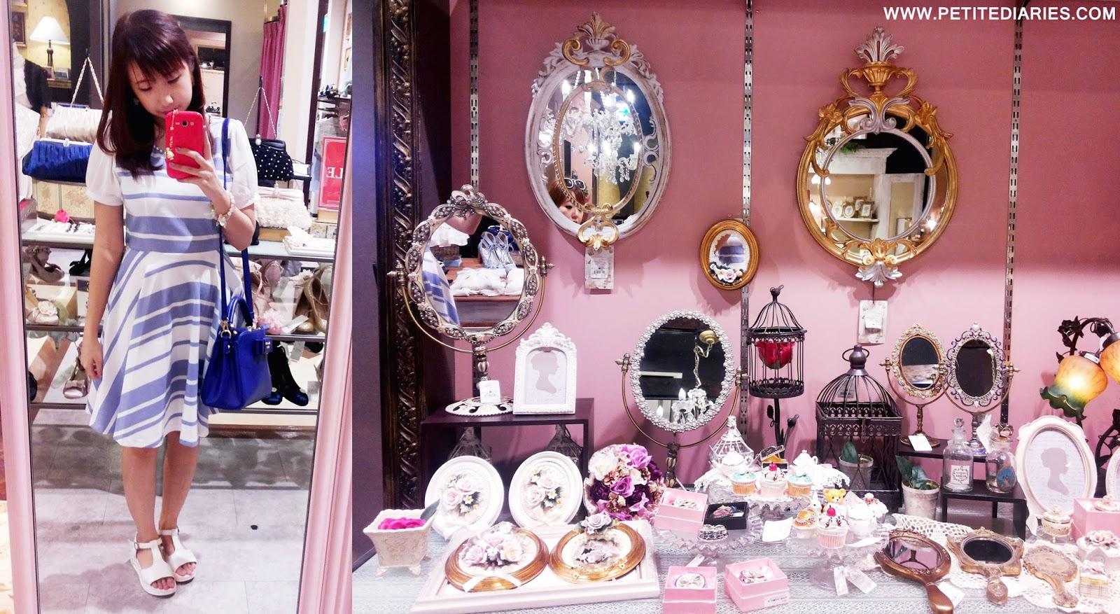 divercity odaiba tokyo japan axes femme store shopping