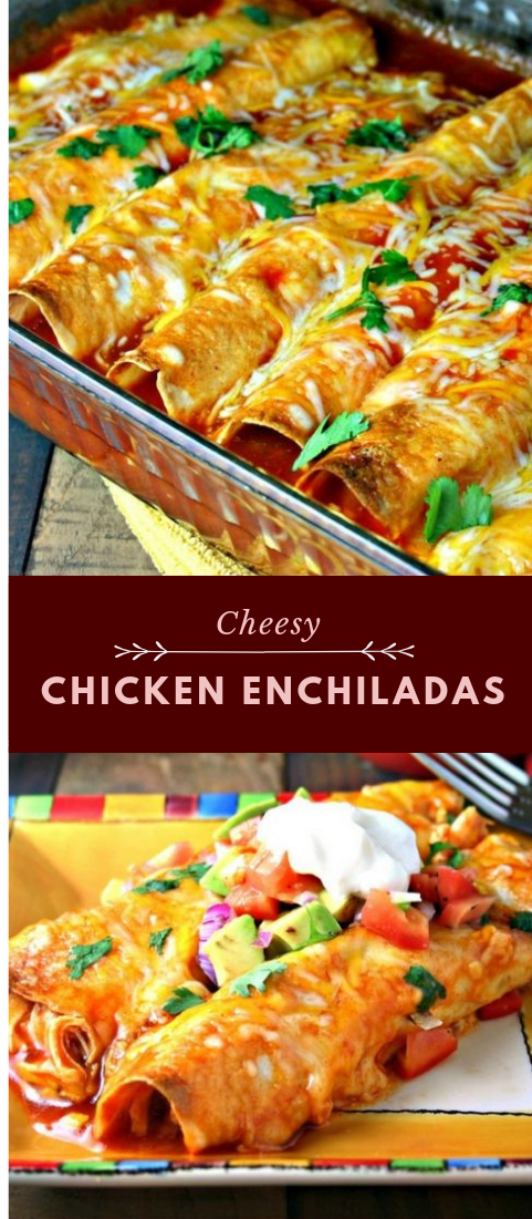 Mushy Chicken Enchiladas  #chicken #mexican #food