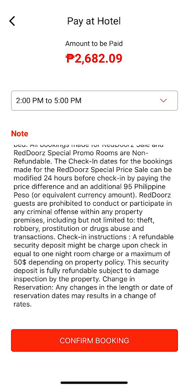 Hotels in McKinley Hill Taguig City Red Doorz App Review