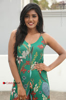 Actress Eesha Latest Pos in Green Floral Jumpsuit at Darshakudu Movie Teaser Launch .COM 0079.JPG