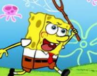 سبونج بوب يصيد قناديل البحر
