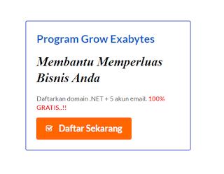 gratis domain dari exabytes