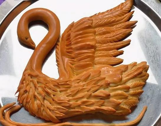 Как сделать лебедя из теста