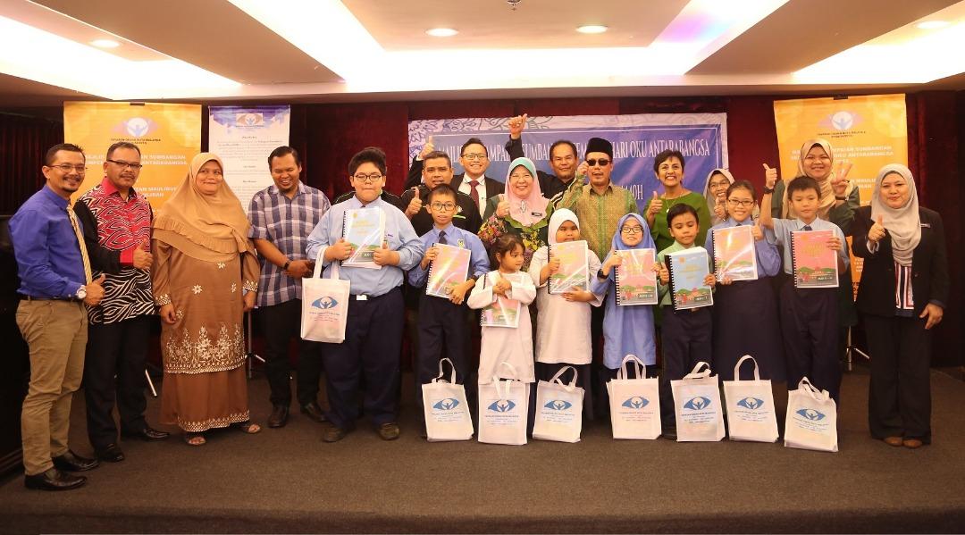 Nestlè Malaysia Sumbang Kepada Masyarakat Cacat Penglihatan