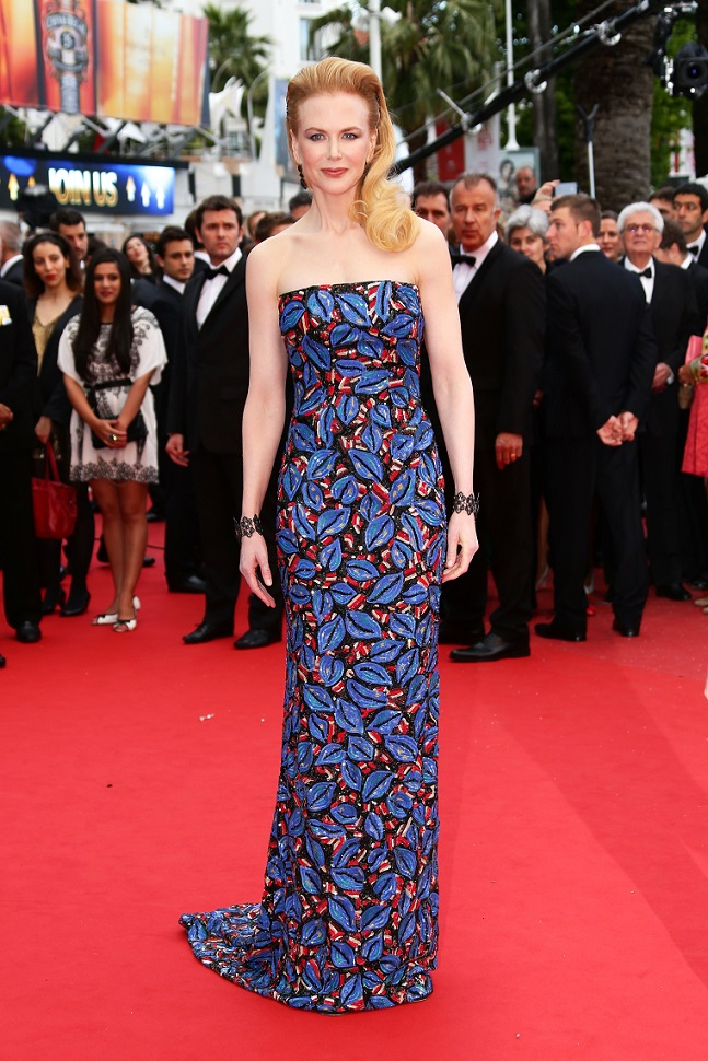 "Nicole Kidman Stunning in Fred Leighton Jewels at ""Inside Llewyn Davis"" Premiere at Cannes Film Festival"