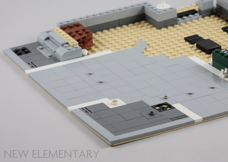 2 New LEGO Black 6x6 Round Plates with hole 11213 circle city star wars moc