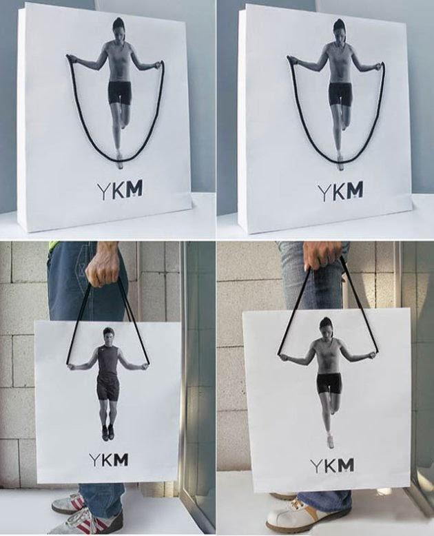 Bagvertising creativo, YKM