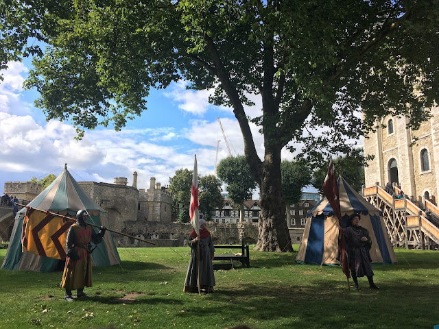 Tower of London Live Re-enactment
