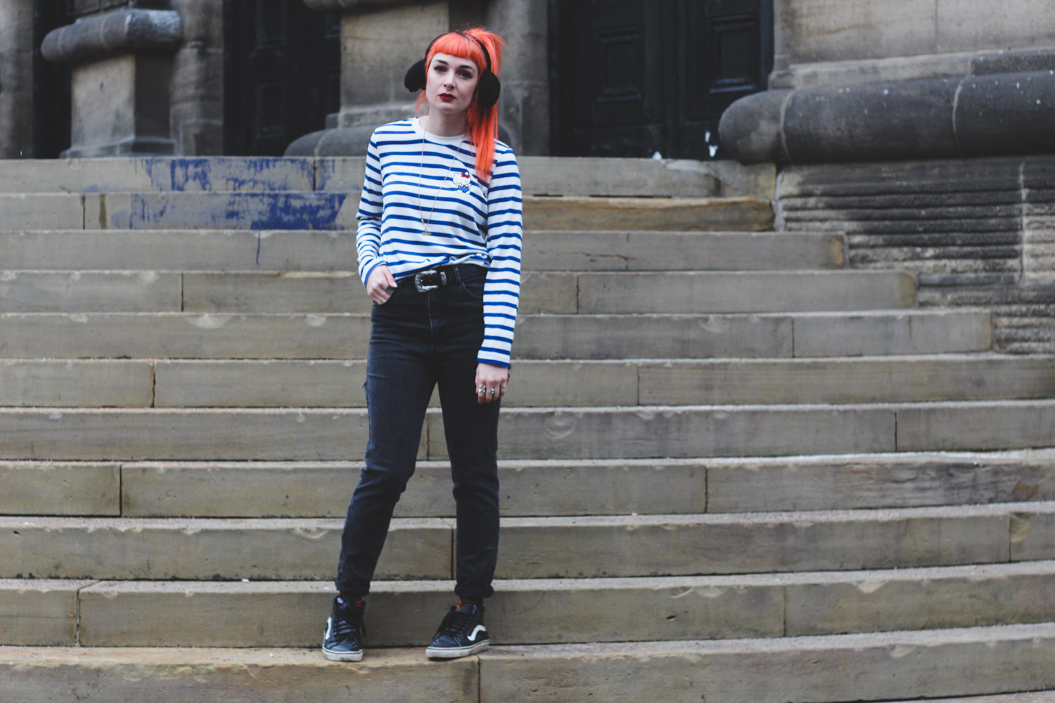 Alternative fashion blogger foxxtailz in HellokityyxASOS