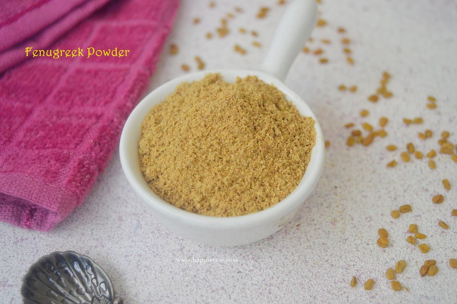 Fenugreek Powder Recipe   Vendaya podi   How to prepare Fenugreek