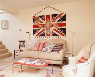 English flags decoration with flag, pillow, sofa, frame, furniture, furniture, student apartment, youth decoration, kid's room, chalk colors, decoration ideas, modern decoration, london, england,
