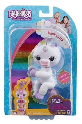 FINGERLINGS  Unicornio Luminoso: Mackenzie | Con Luz  Light Up Unicorn Producto Oficial 2019 | WowWee | A partir de 5 años COMPRAR ESTE JUGUETE