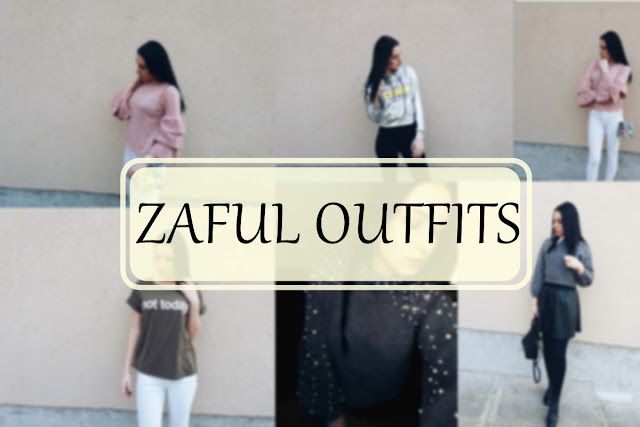 Winter and spring outfits with Zaful