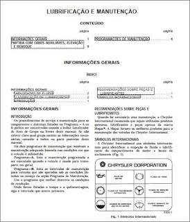 Manual de manutenção Jeep Cherokee 98