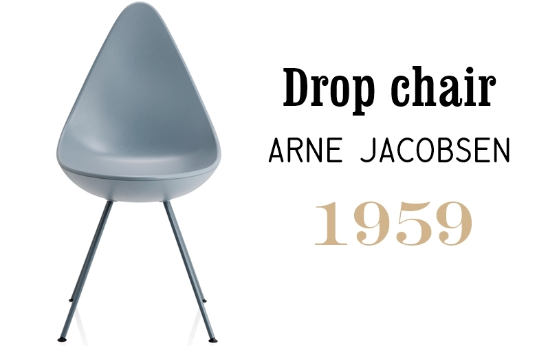 Silla Drop de Arne Jacobsen en Superestudio.com