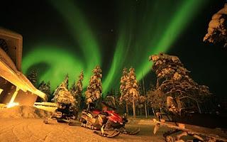 5 tempat terbaik melihat aurora