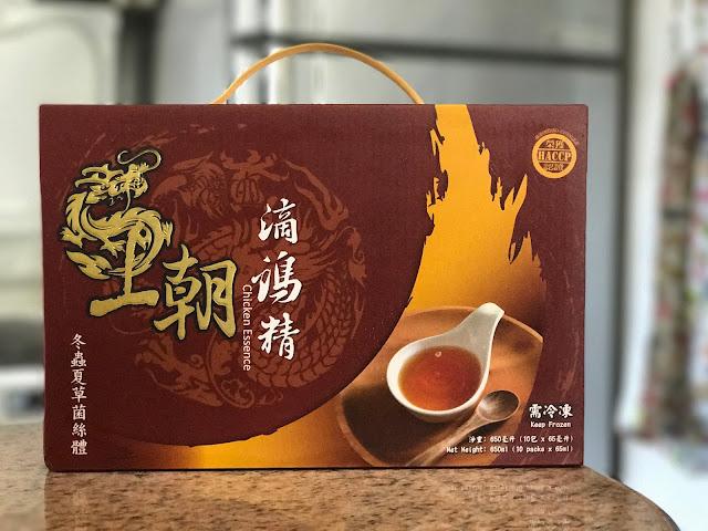 【食】29_1 高蛋白補身*台灣 王朝滴雞精 冬蟲夏草味