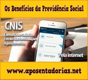 Central de Serviços pela Internet da Previdência – MEU INSS