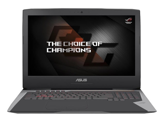 Asus ROG G752VS-XS74K OC Edition laptop