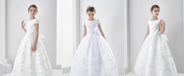 white communion dresses