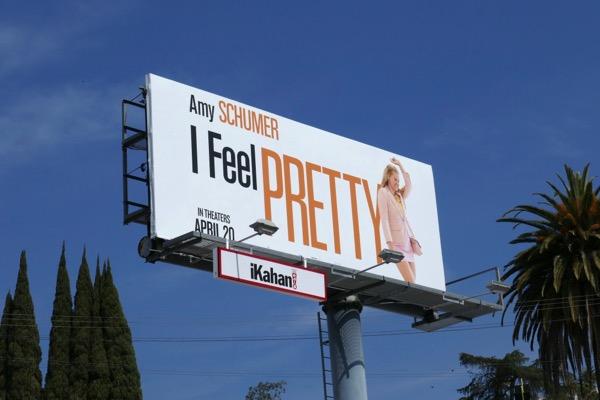 I Feel Pretty movie billboard
