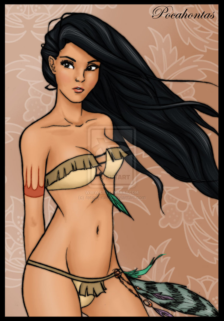 Angelica Celaya En Bikini art: 'sexy disney princesses and heroines'biaani