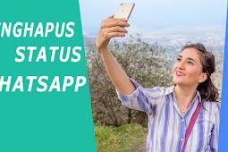 Cara Menghapus Status WhatsApp Anda Sendiri dan Menyembunyikan Status WhatsApp Orang Lain