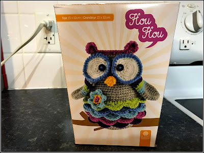 December 13, 2018 Open day 5 of the 12 days to retirement gifts and finding great joy - an Owl purse I will make.