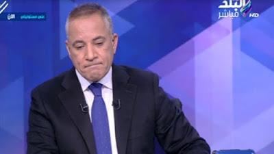 """أحمد موسى يبكي على الهواء في عيد الأم: """"والدتي توفيت وعمري 19 سنة"""""""