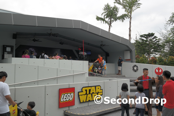 Second Drop Attractions Legoland Malaysia Star Wars Miniland The