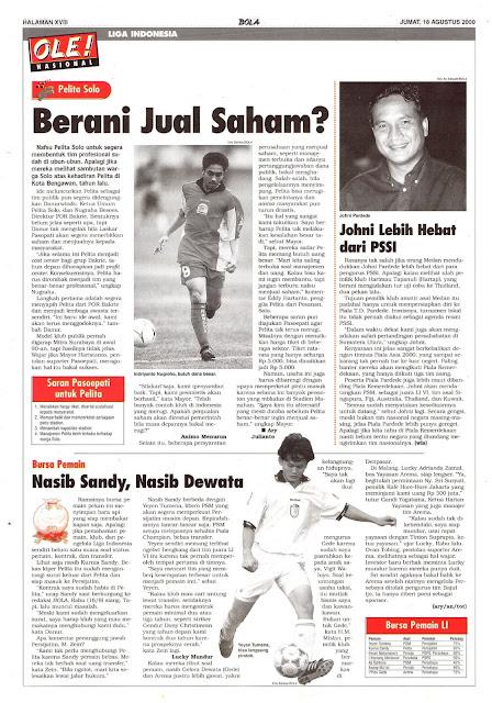 LIGA INDONESIA: PELITA SOLO