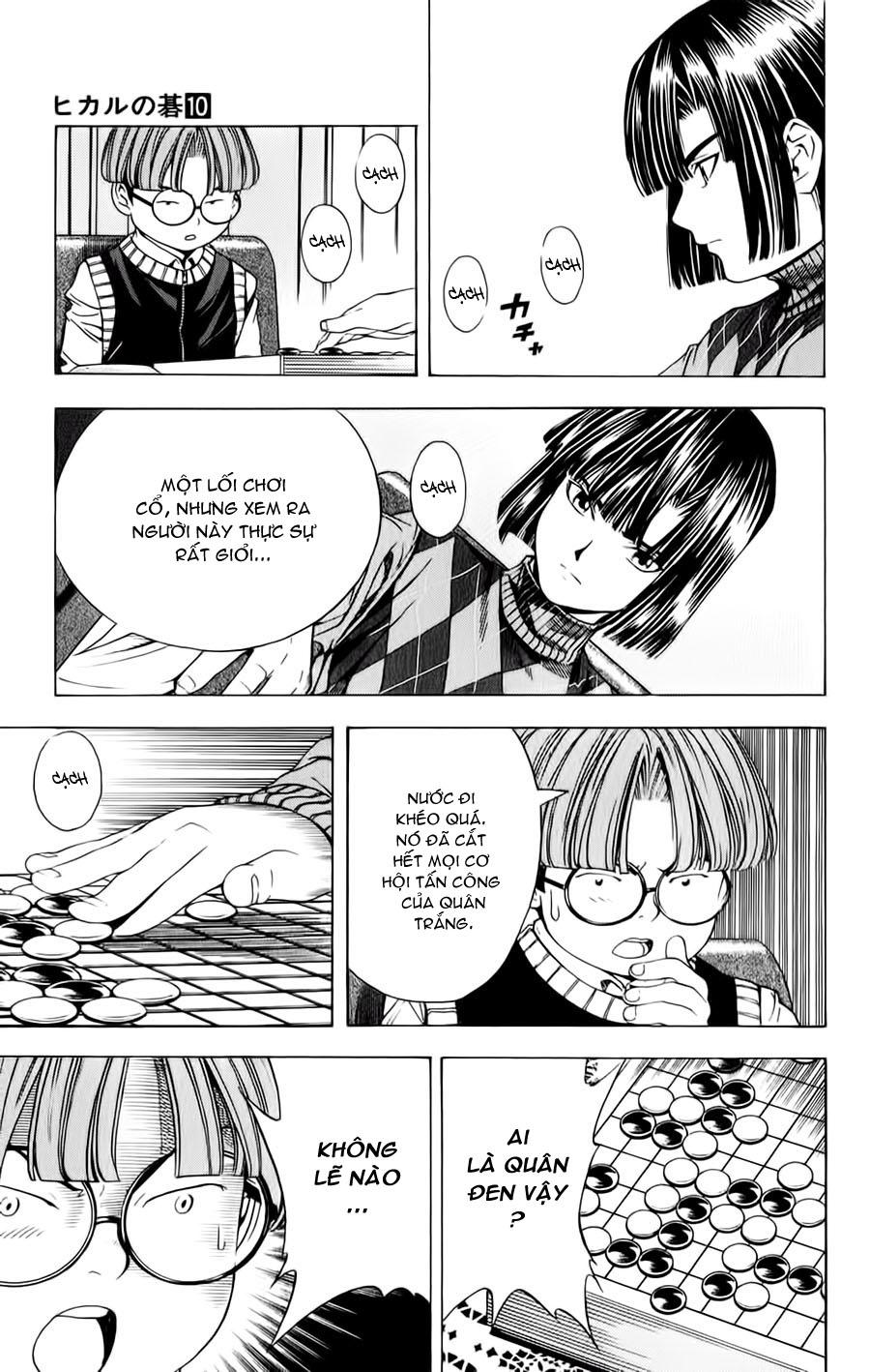 Hikaru No Go hikaru no go chap 87 trang 21